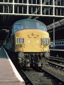 Class 45 at St.Pancras in 1975