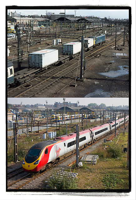 Willesden Junction 1982 and 2010