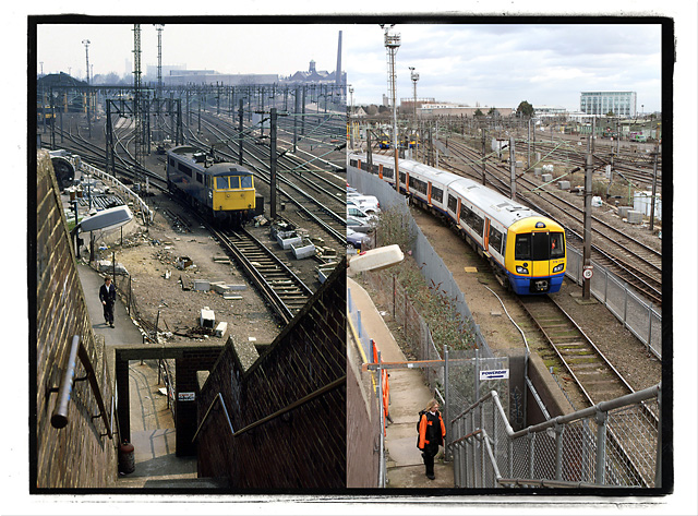 Willesden Junction 1986 and 2012