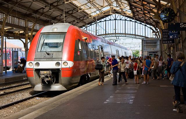 Perpignan Station Trainshed