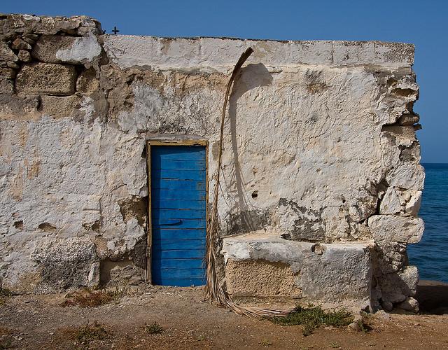 Blue Sky, Blue Sea, Blue Door