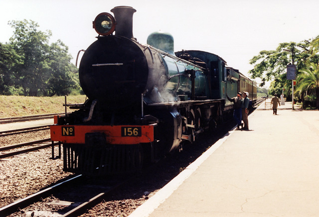 Zambia Railways 10th Class 156
