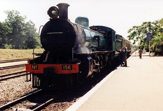 Zambia Railways 10th Class 156