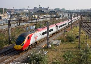 Virgin Pendolino at Willesden Junction