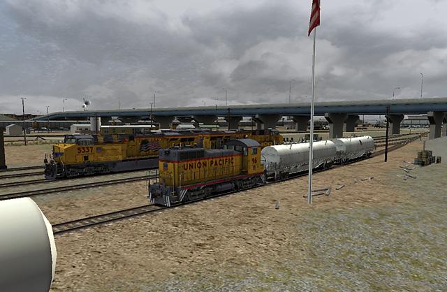 UP96 Delivering Oil