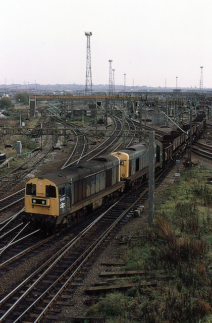 English Electric Type 1's at Bescot