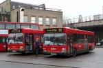 Buses on the 39 at Clapham Junction