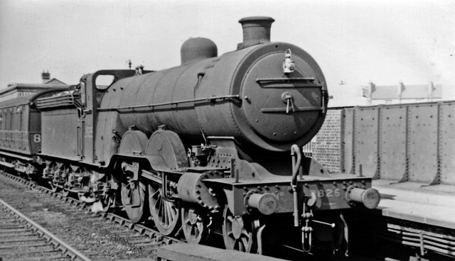 Ivatt Atlantic At Finsbury Park