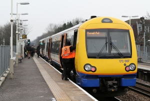 Barking - Gospel Oak service at Harringay Green Lanes