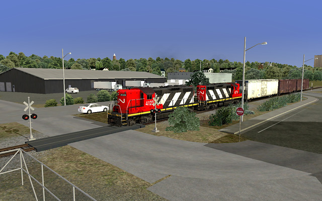 Shunting at North Side