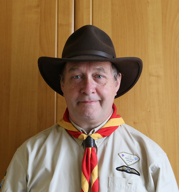 Cowboy Hat (Australian Style).   Bought for Cub Camps - 1st Finchley Cub Leader Uniform.