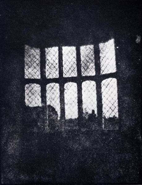Image of an Original Photo by Fox Talbot taken in his home at Lacock Abbey.   Courtesy of National Museum of Photography, Film and Television collection via Wikipedia