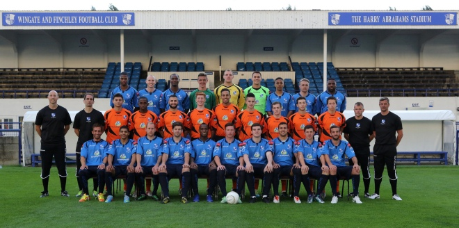 Team Photo: Wingate & Finchley 2013/14