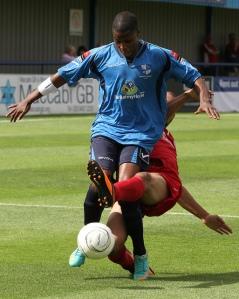 Vidal gets plenty of Ola!