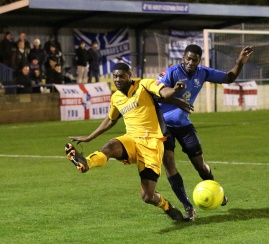 Ola Sogbanmu - New signing challenges a Maidstone player