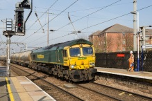 66614 - 6L45 Hope (Earles Sidings) Fhh to West Thurrock Sidings Fhh