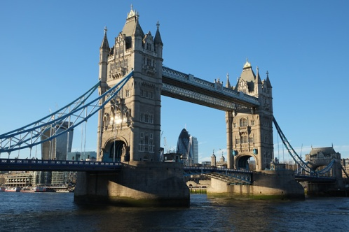 Tower Bridge and The City