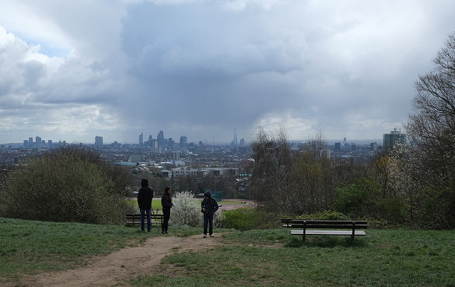 The City from Parliament Hill Fields