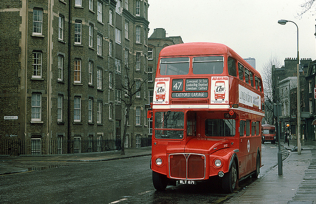Iconic Routemaster Bus
