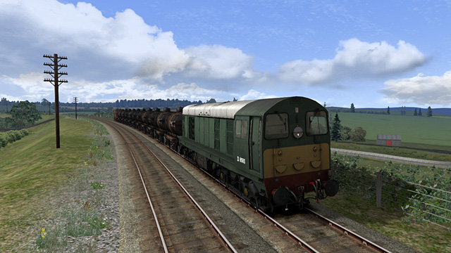 DD8060 near Dalbeattie