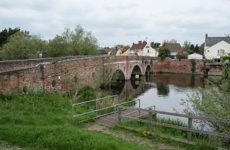 Cattawade Bridge on the River Stour