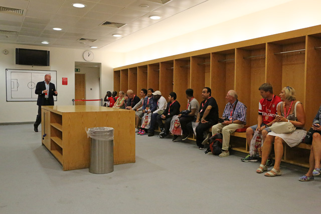 Arsenal Changing Room