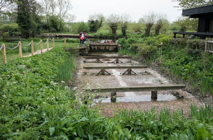 Dry Dock, scene of Constable's painting 'Boat Building near Flatford Mill'