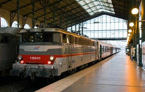 SNCF 116041 at Gare du Nord