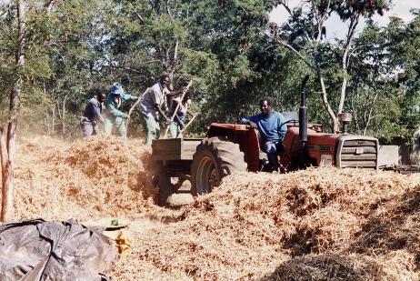 Delivering the harvest