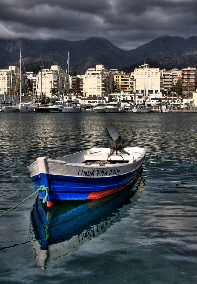 Fishing vessel, Marbella