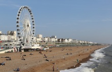 Brighton Wheel and Beach