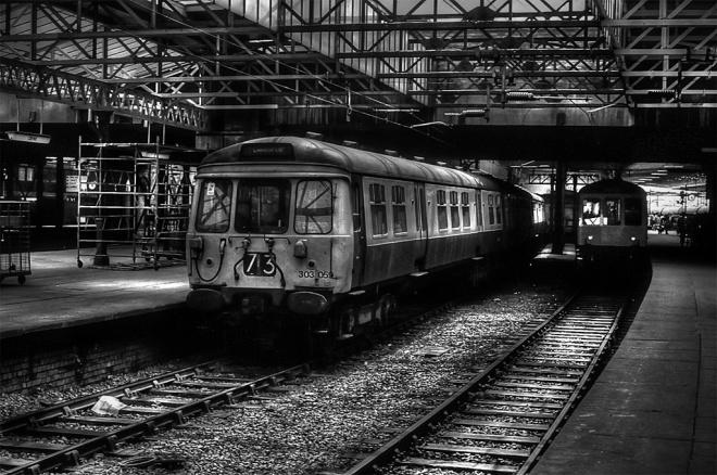 303059 at Crewe (1982)