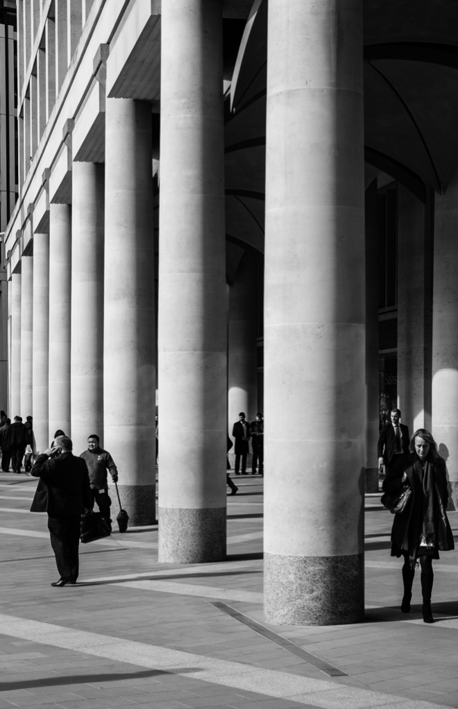 Paternoster Columns