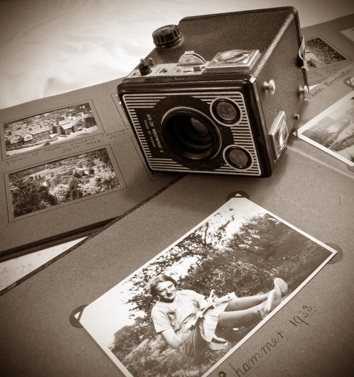 Kodak Brownie 620E - 1947 to 1957.