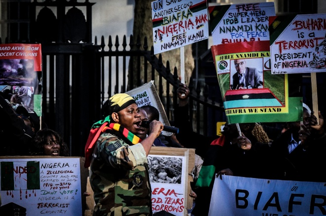 Protest on Whitehall-2