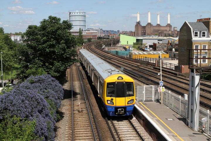 TfL Overground service at Wandsworth Road