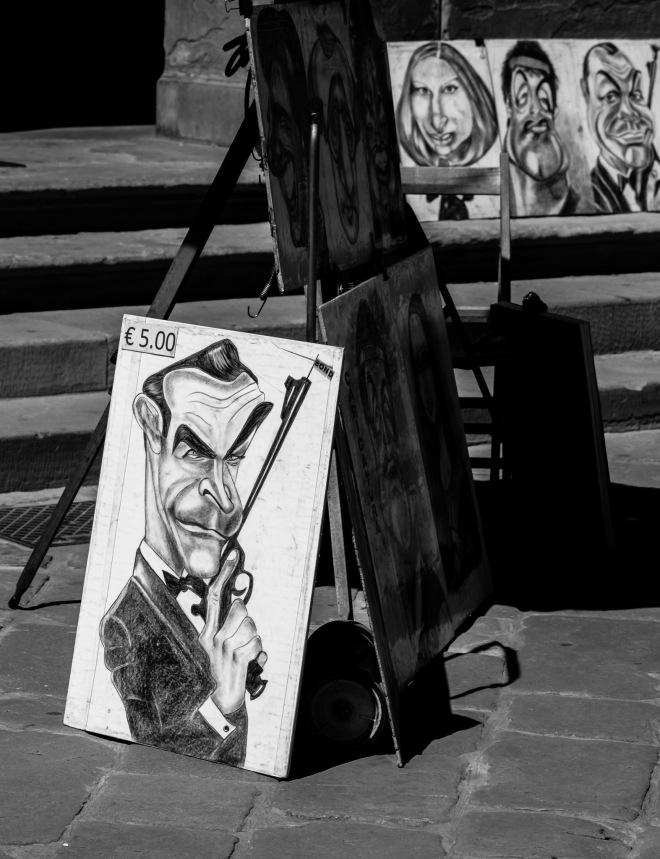 Chiaroscuro Caricature