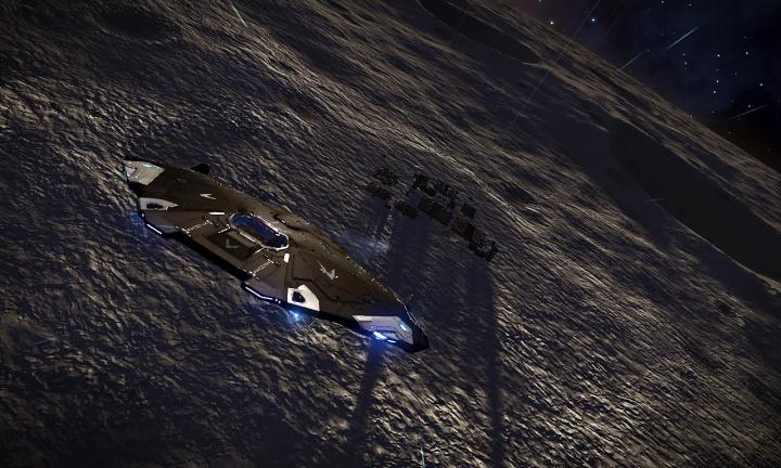 Dark of Night departing Bruce's Folly, Maiden System
