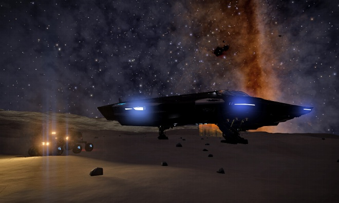 Dark of Night on Wuluwait B1