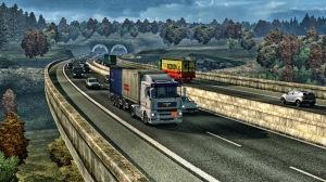 Approaching the German Border in the Czech Republic.