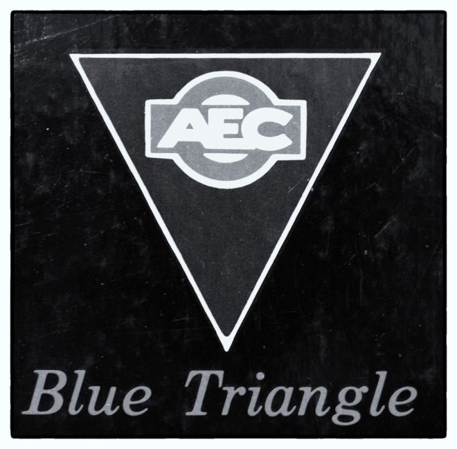 Triangle - as seen on London Buses.