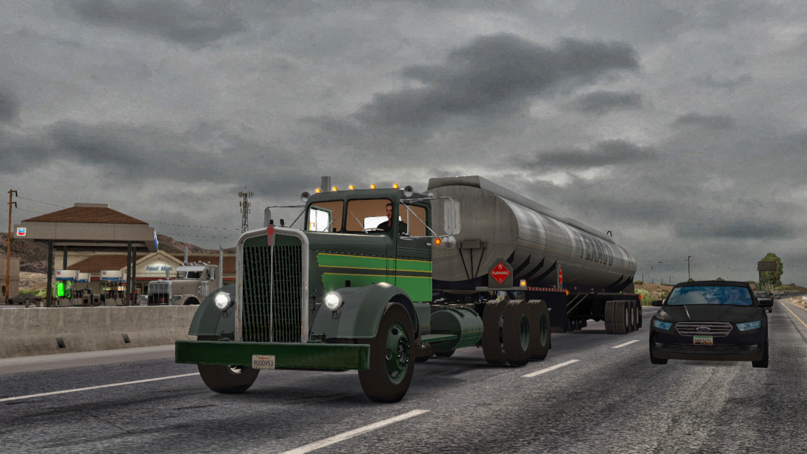 Kenworth 521 – Images from Finchley